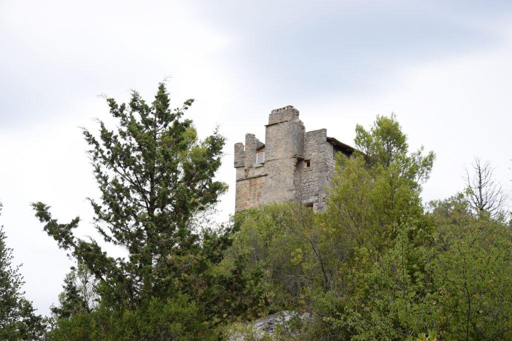 Château de Roquevaire à Sauve