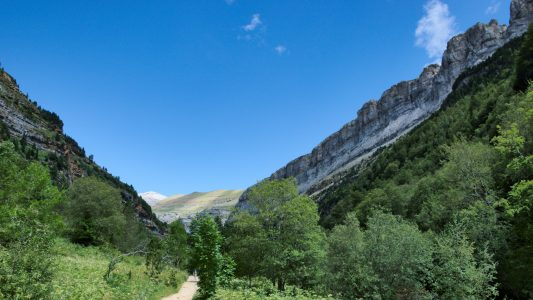 Le parc national d'Ordesa en Espagne