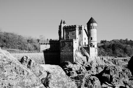 Le château de la Roche (Loire)