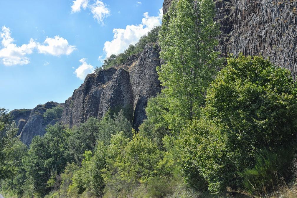 Les coulées basaltiques de Blôt.