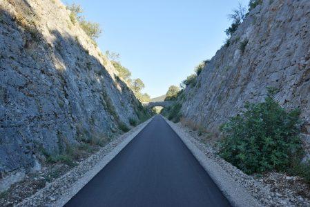 Voie verte du Gard : entre Quissac et Saint-Hippolyte-du-Fort