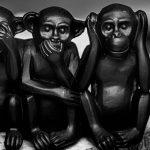 Trois petits singes